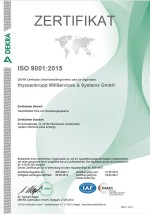 DIN 9001:2015 WaP (available only in German)